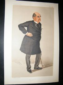 Vanity Fair Print: 1889 William Kendal Robertson